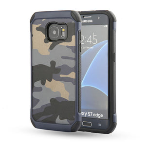 2 in 1 Camouflage Armor Case For Samsung Galaxy S7 S6 Edge and Note 5
