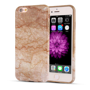 Fashionable Marble Stone Soft TPU Phone Case for iPhone