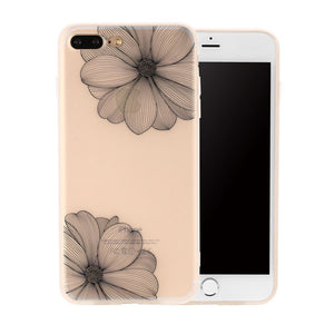 3D Ultra Thin Flower iPhone Case