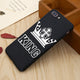 KING Queen Phone Case Matte Ultra thin Soft Full cellphone Cover