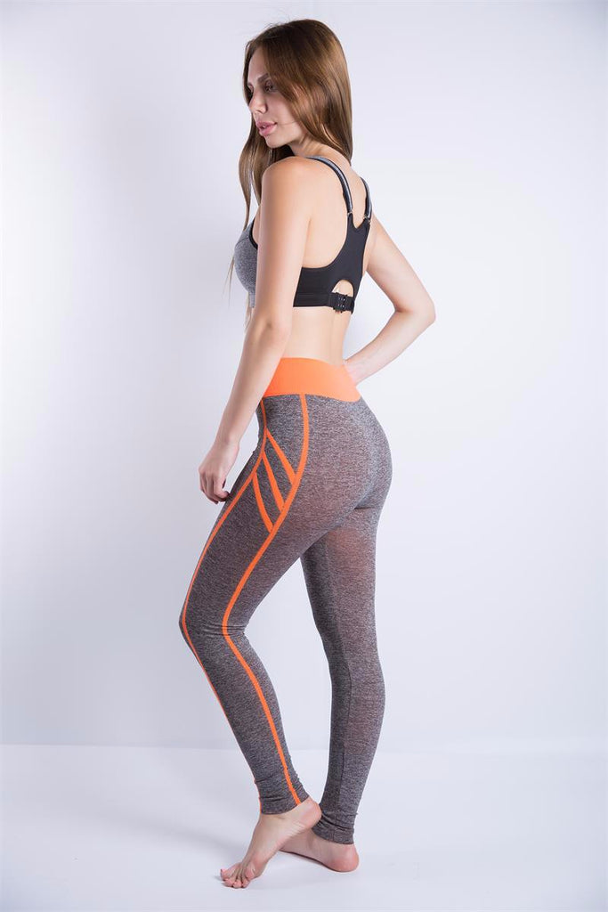 77843aa9a10a ... High Waist Sports Pants Gym Clothes Running Training Tights Yoga Pants  ...