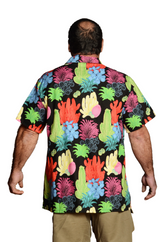 Colorful Undersea Coral Print - Hawaiian Shirt