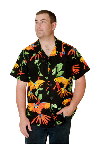 Exotic Parrot Print - Hawaiian Shirt