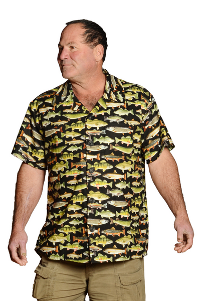 Lets Fish Pattern - Hawaiian Casual Shirt