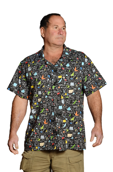 Math Mind Pattern - Hawaiian, Casual Shirt