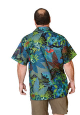 Feak Shirt for Men Tropical Rainforest Print