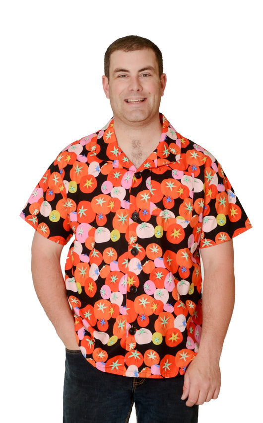 Tomato Fest Pattern - Hawaiian Shirt