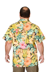Feak Shirt for Men Tropical Forest Girl Print