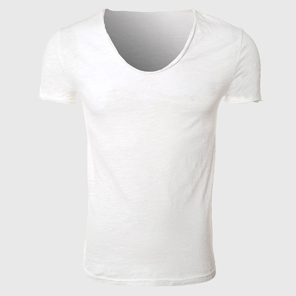 Men T Shirts Cotton  Tee Shirts Short Sleeve