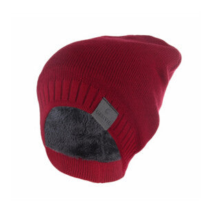 Winter Hat Knitted Mens