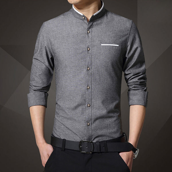 Men's Casual Shirt Long Sleeve