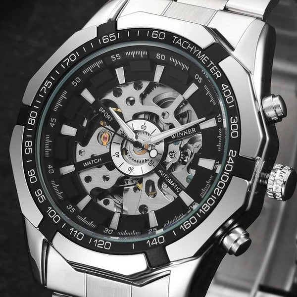 Skeleton  Automatic Mechanical Wristwatch