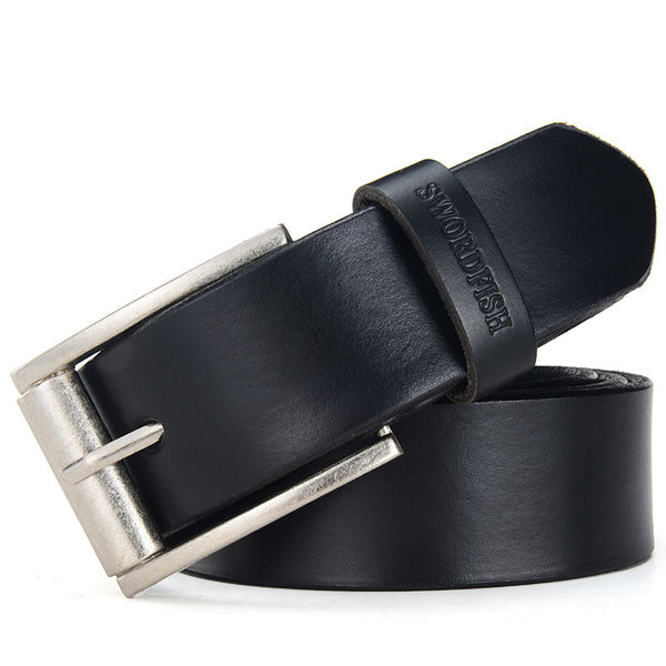 Men's Belt Genuine Leather