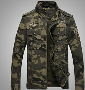 Men's Camouflage Jacket Autumn And Winter