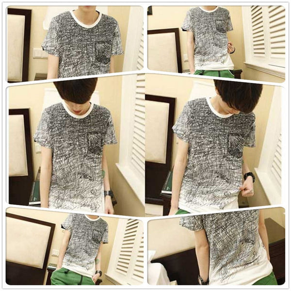 American Style Men Summer T-Shirt