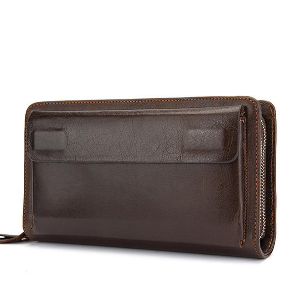 Clutch Male Wallet Genuine Leather
