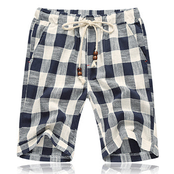 Men's Linen Shorts Summer Style