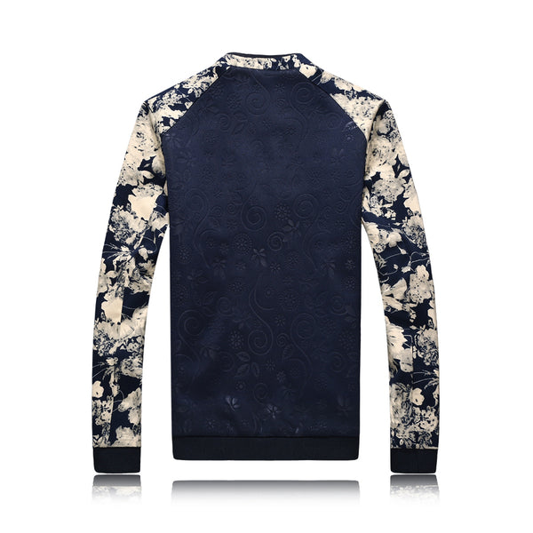 New Floral Bomber Jacket Mens