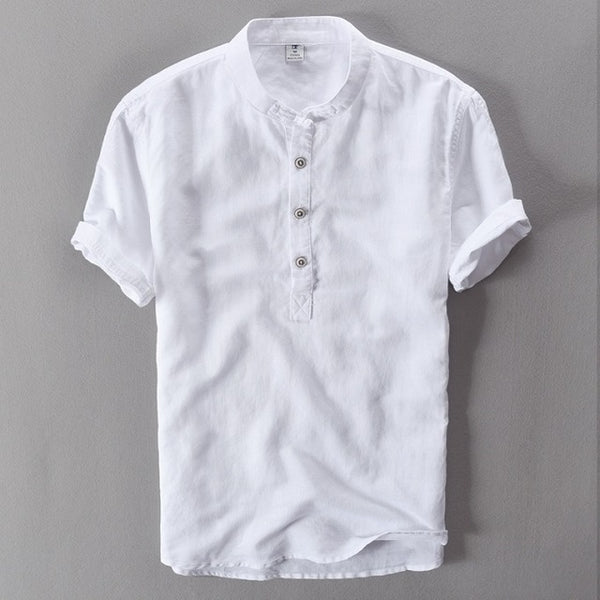 Fashion Men's Linen Shirts