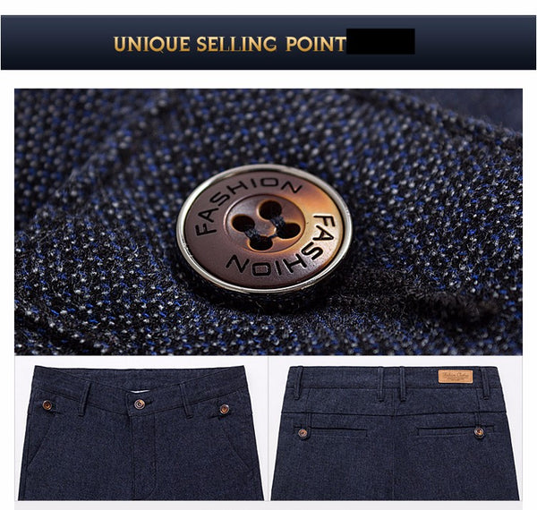 Trousers Men's  Casual Pants Free Delivery