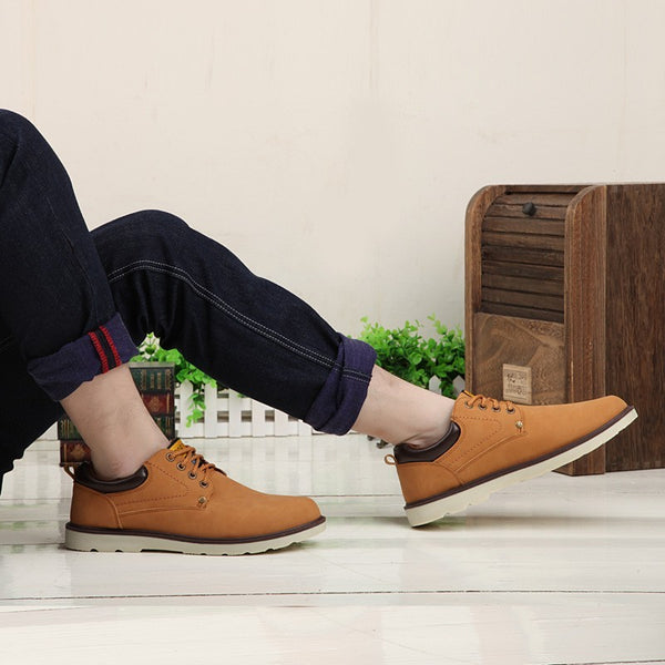 Casual Shoes Men Spring Autumn Waterproof