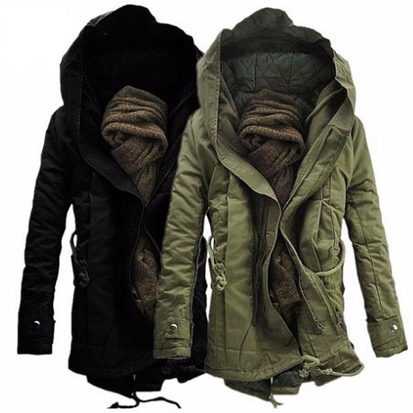 Winter Hooded Parka Jacket 2017