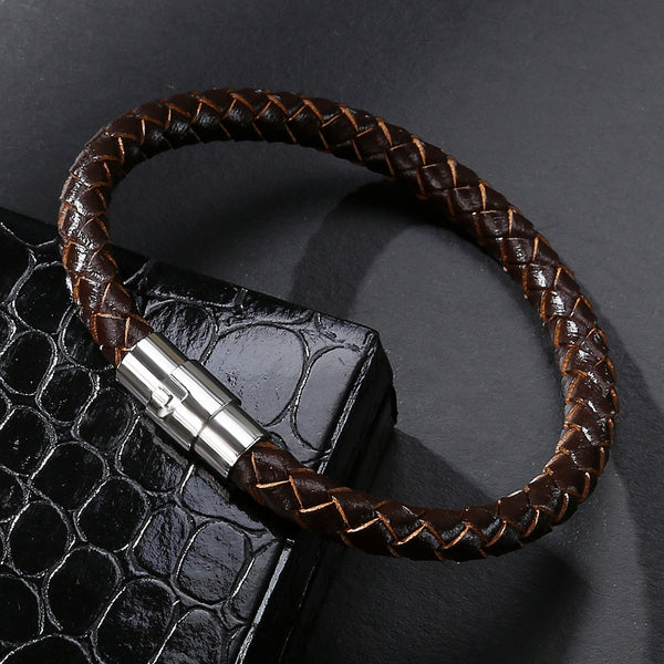 Men's Bracelet Leather Rope