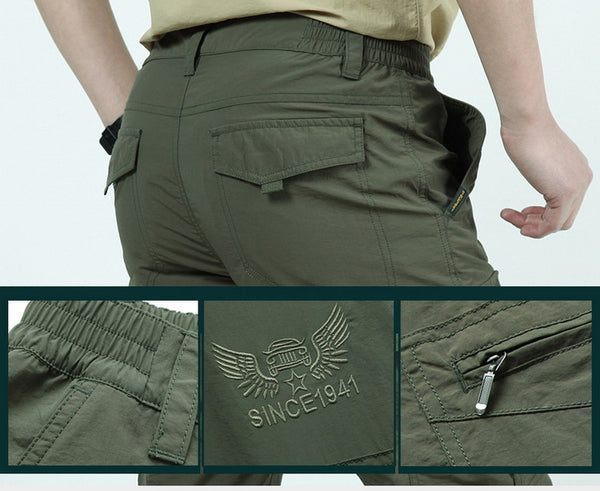 Military Style Cargo Pants Men