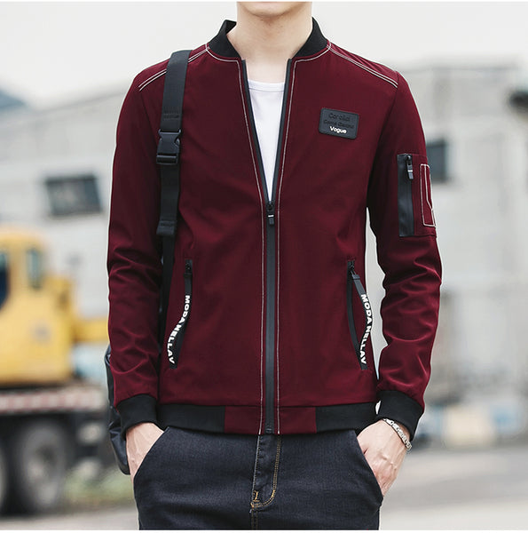 New Brand Men Spring Autumn Bomber Jacket