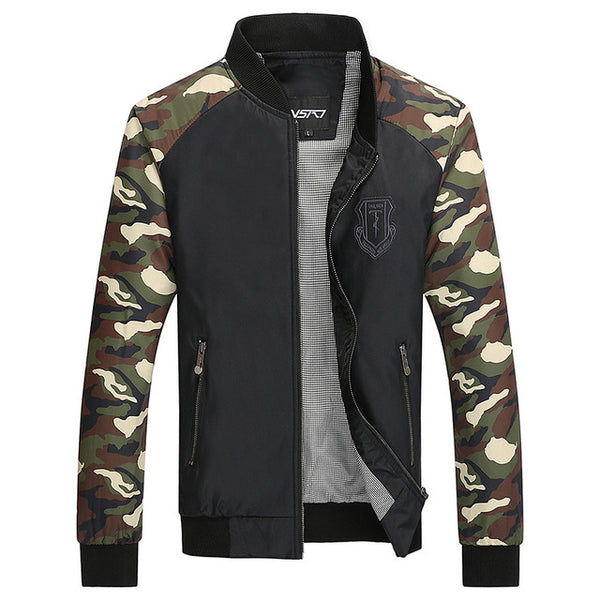 Men's Camouflage Casual Jackets