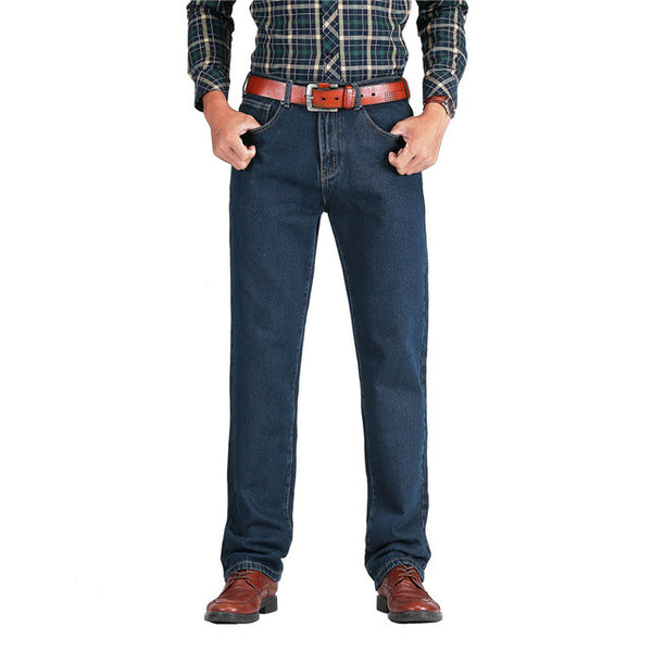 Classic Men's Jeans Spring Autumn