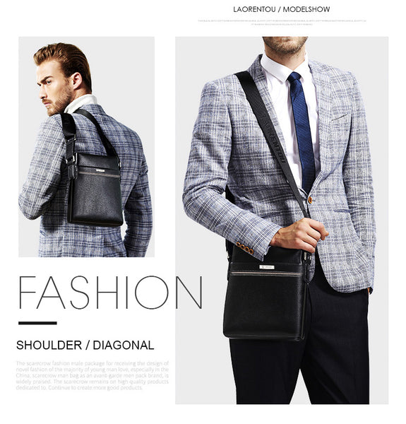 Men's Leather Casual Bag