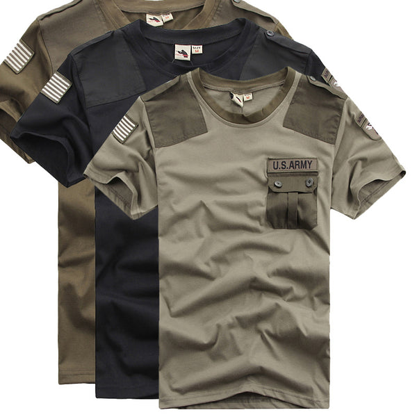 Summer Men's Army T-Shirt