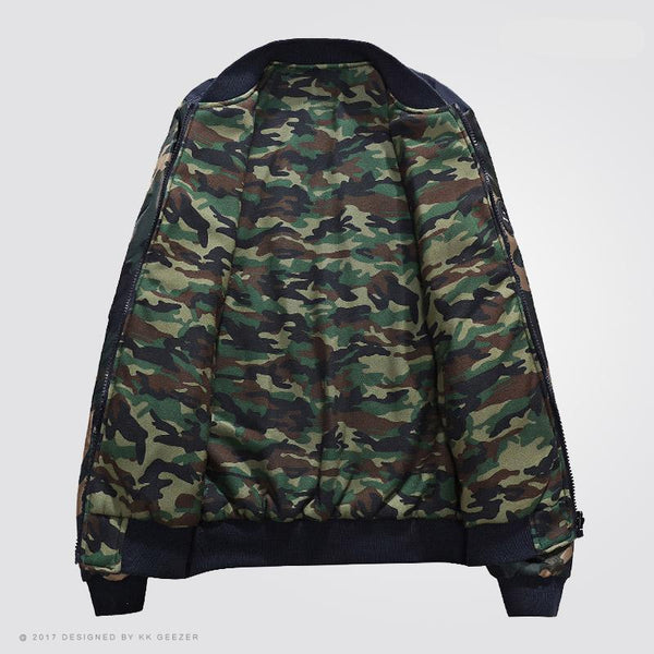 Contemporary SOUL Camouflage Jacket