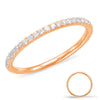 White Gold Matching Band  # EN7884-BWG