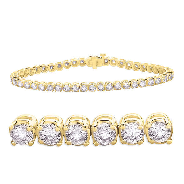 Yellow Gold Diamond Bracelet