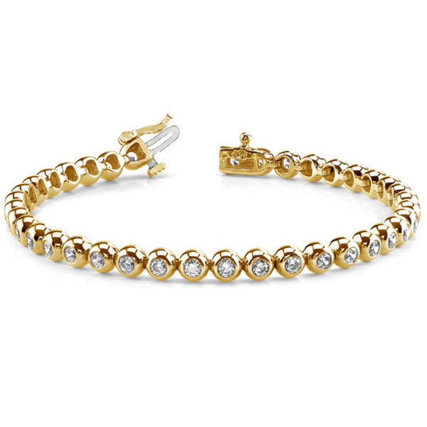 Diamond Tube Bracelet