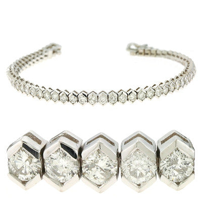 Diamond Tennis Bracelet