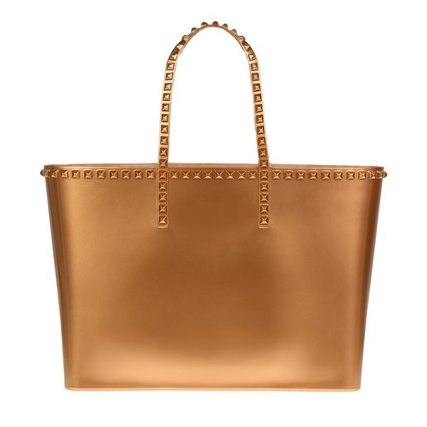 CARMEN SOL Angelica Large Tote - Rose Gold.