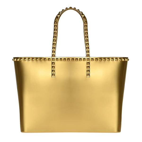 CARMEN SOL Angelica Large Tote - Gold.