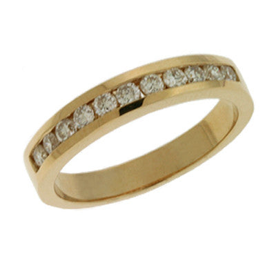 Diamond Band  # D3031YG - Zhaveri Jewelers
