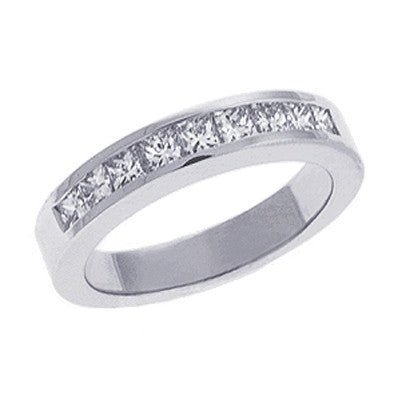 Princess Diamond Band Platinum