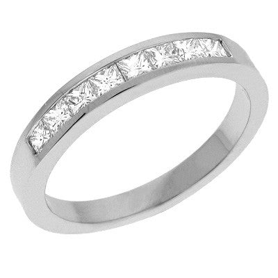 Diamond Princess Cut  Ring