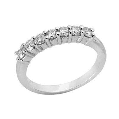 Platinum Diamond Band  # D3417-PL - Zhaveri Jewelers