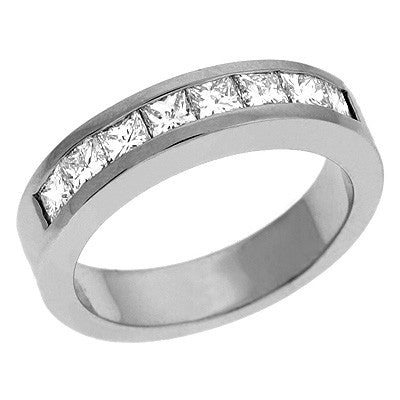 Platinum Princess Band  # D3450-PL - Zhaveri Jewelers