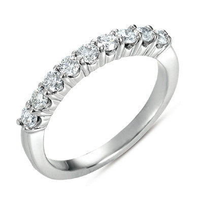 Platinum Wedding Band  # D3474-PL - Zhaveri Jewelers