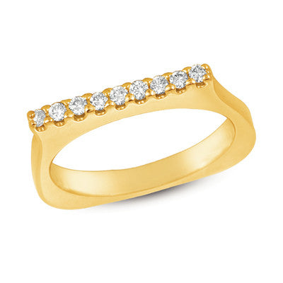 Diamond Band  # D3570 - Zhaveri Jewelers