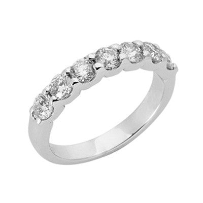 Platinum Diamond Band  # D3589-PL - Zhaveri Jewelers