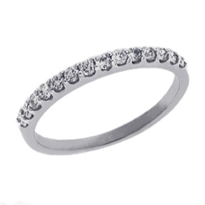 Prong Set Diamond Band  # D3599-PD - Zhaveri Jewelers