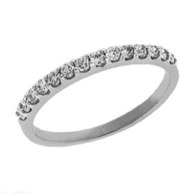Prong Set Diamond Band  # D3599-PL - Zhaveri Jewelers